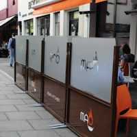 Cafe & Terrace Screens
